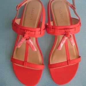 Talbots Lamar Tassel Sandals 9M